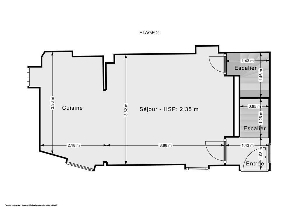 Maison Le Cannet Historique 349.000€
