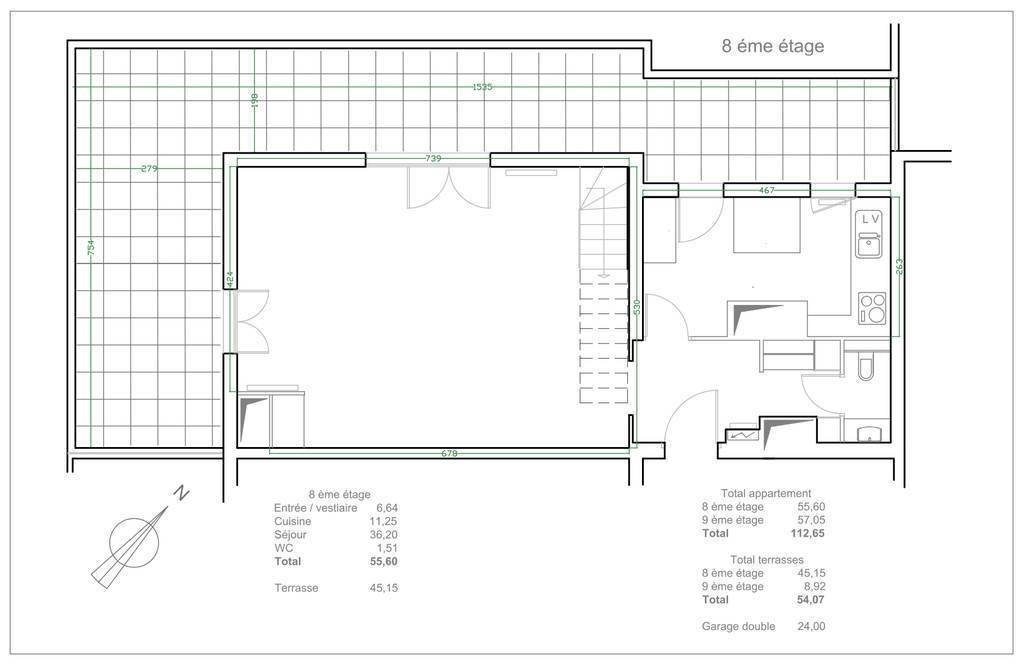 Immobilier Lyon 6E (69006) 935.000€ 113m²