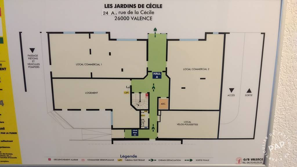 Immobilier Valence 860€ 88m²