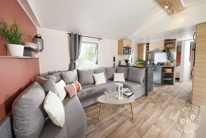 Vente Chalet, mobil-home Canet-En-Roussillon (66140)  39.000€