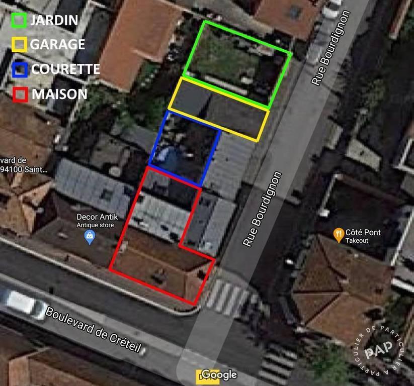 Maison 620.000€ 115m² Saint-Maur-Des-Fossés (94100)
