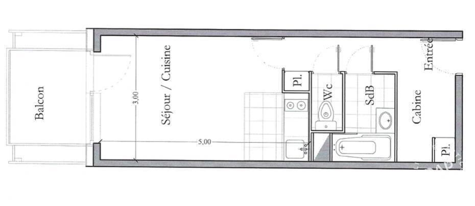Immobilier Megève (74120) 175.000€ 24m²