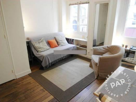 Vente appartement studio Paris 4e