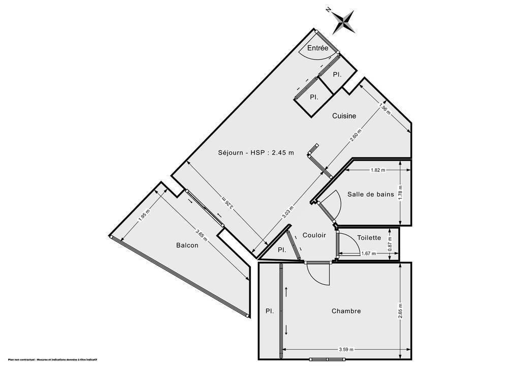 Vente Appartement Saint-Vincent-De-Paul (40990) 38m² 95.000€