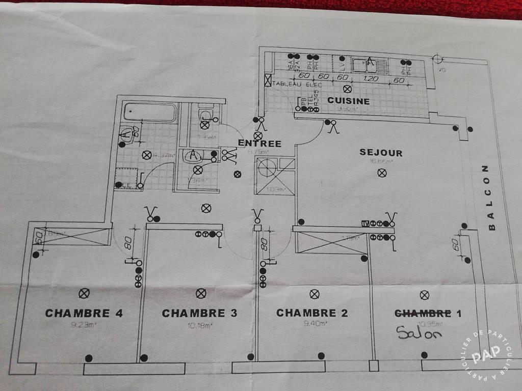 Vente appartement 5 pièces Meaux (77100)