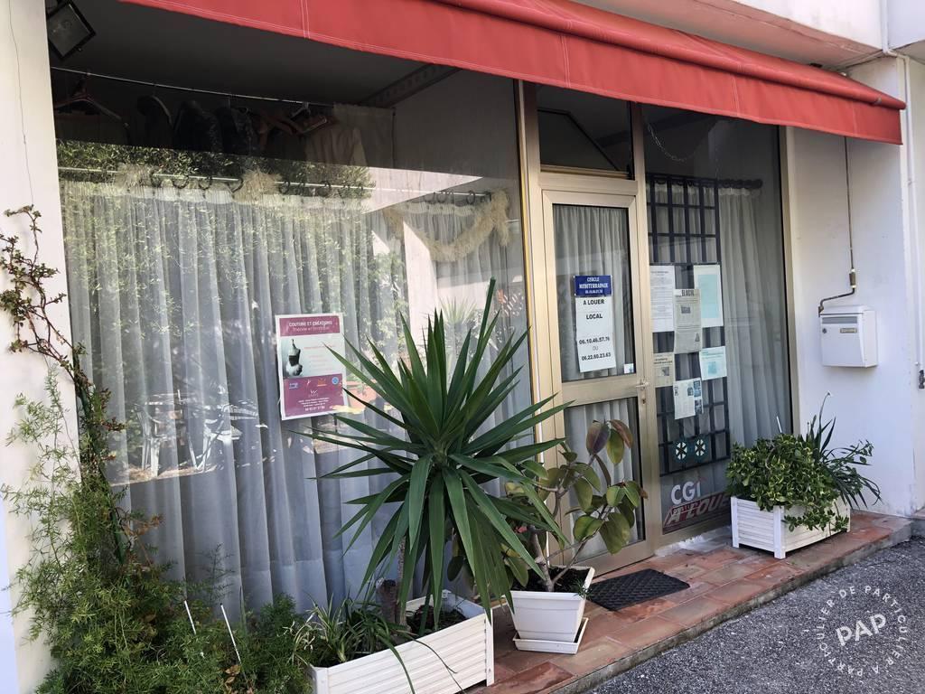 Vente et location Local d'activité Cagnes-Sur-Mer (06800) 45m² 850€