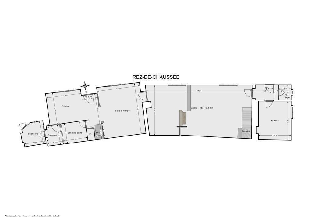 Vente Maison Roinville (28700) 165m² 215.000€