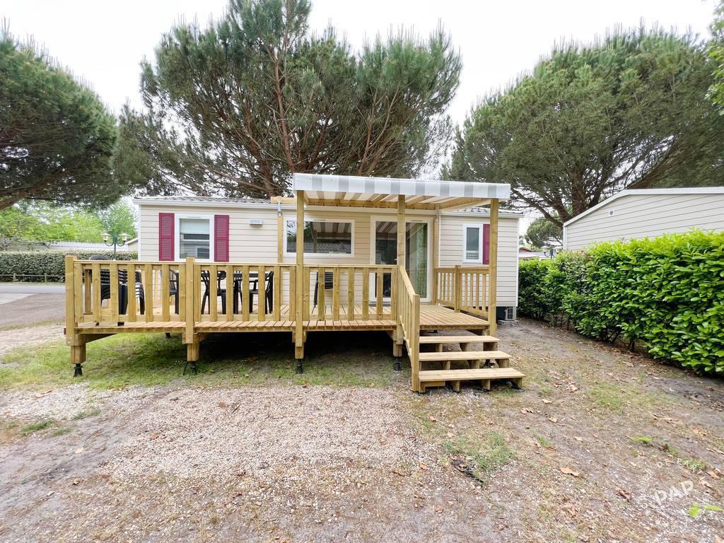 Vente Chalet, mobil-home Biscarrosse (40600)  37.615€