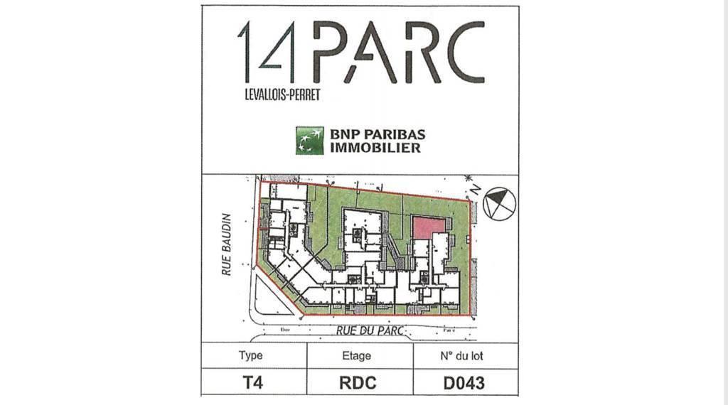 Appartement Levallois-Perret (92300) 1.190.000€