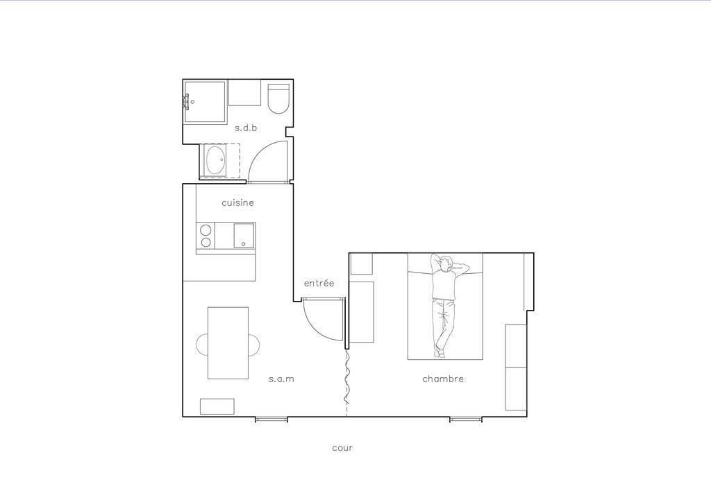 Appartement 260.000€ 21m² Paris 9E (75009)