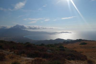 Aregno, 6Km Plage D'algajola / Vue Montagne