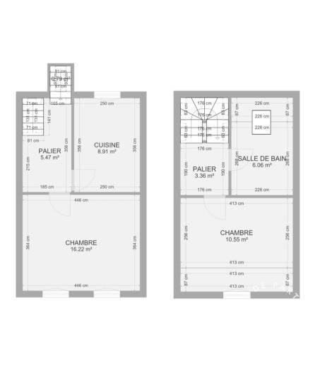 Vente maison 2 pièces Amiens (80)