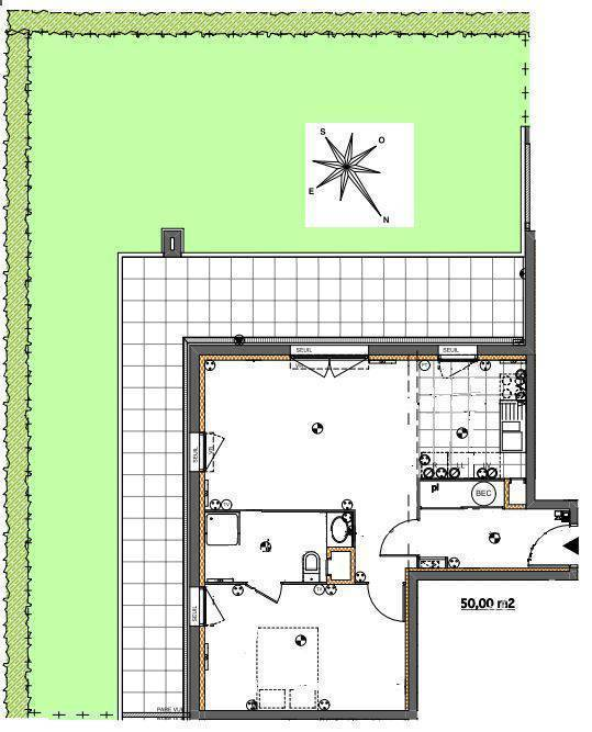 Vente appartement 3 pièces Reims (51100)