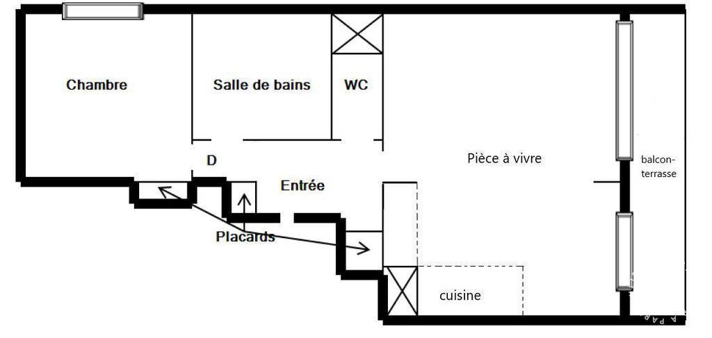 Appartement Saint-Ouen (93400) 349.000€