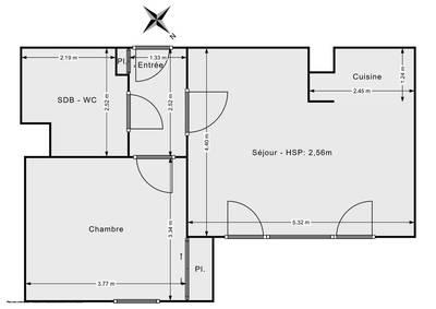 + Loggia 6M² + 1 Parking Privé Sous Sol- Massy Atlantis