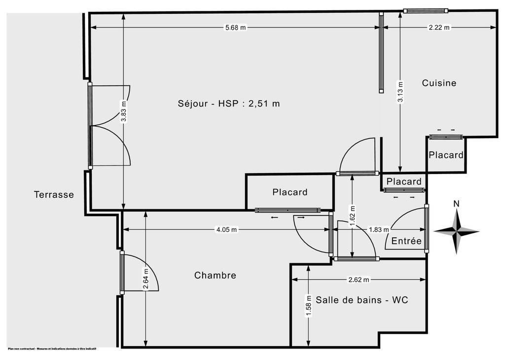 Vente Appartement Toulouse 44m² 165.000€