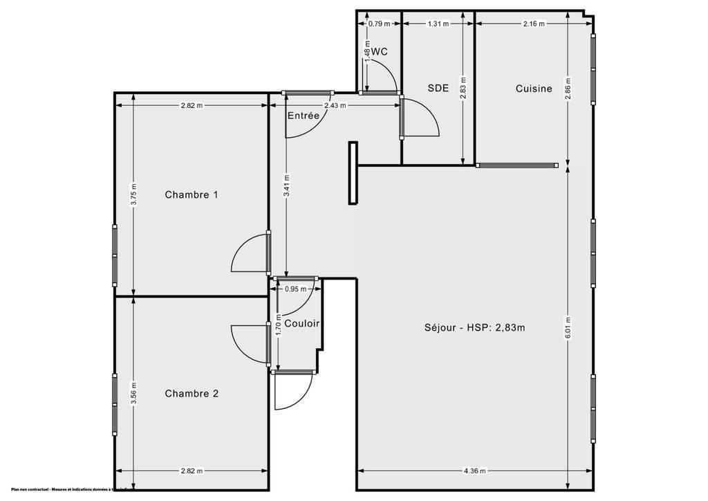 Vente Appartement Amiens (80000) 65m² 134.000€