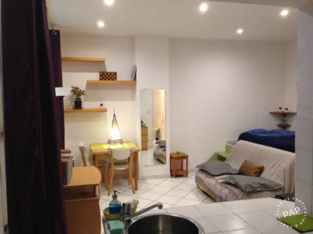 Vente appartement studio Marseille 4e