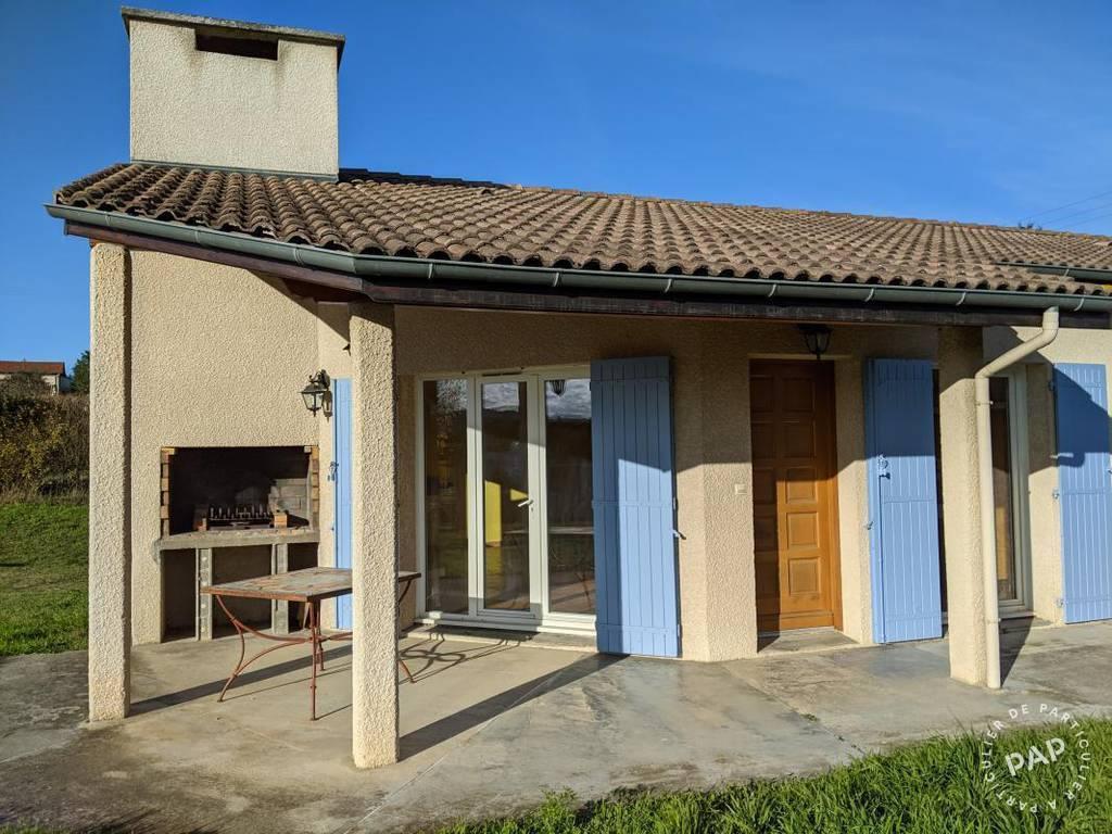 Vente maison 4 pièces Chanas (38150)