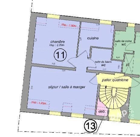 Vente Appartement Paris 17E (75017) 35m² 444.000€