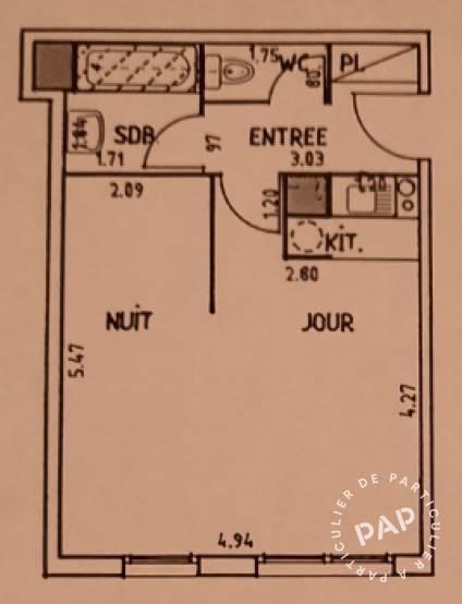 Vente appartement studio Asnières-sur-Seine (92600)