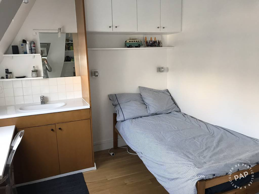 Location appartement studio Paris 16e