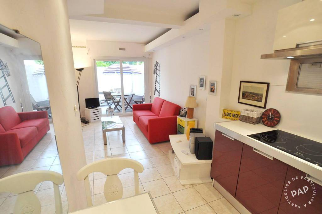 Location Appartement Cannes 26m² 690€