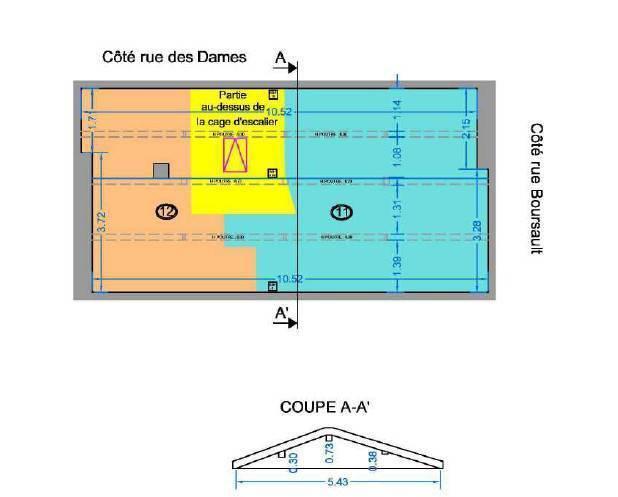 Appartement Paris 17E (75017) 444.000€