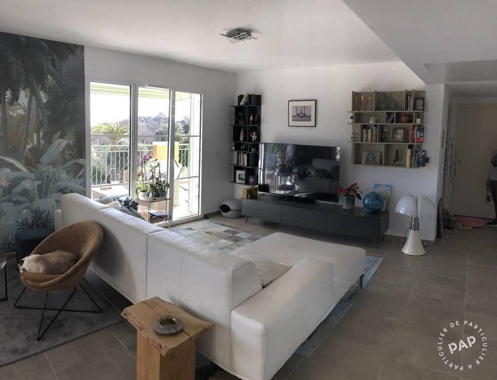 Appartement 636.000€ 92m² Roquefort-Les-Pins (06330)