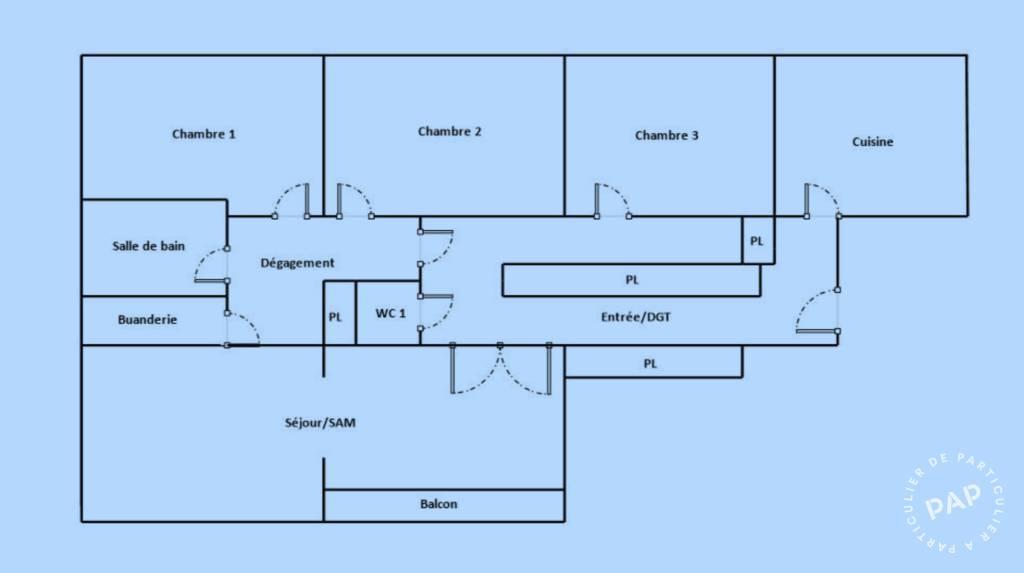 Immobilier Lyon 6E (69006) 629.000€ 105m²