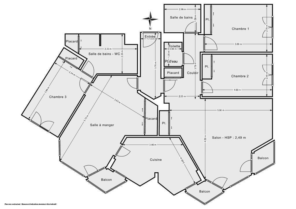 Vente Appartement Paris 19E (75019) 110m² 760.000€