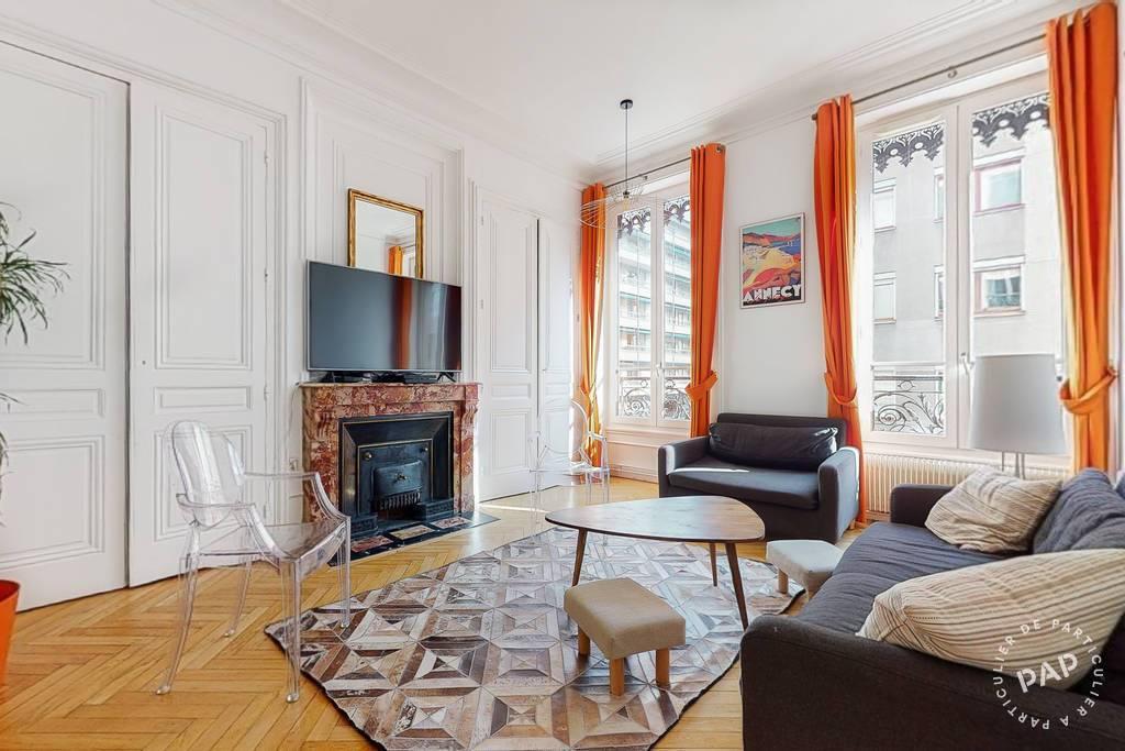 Vente appartement 4 pièces Lyon 6e