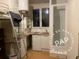 Location appartement studio Paris 17e