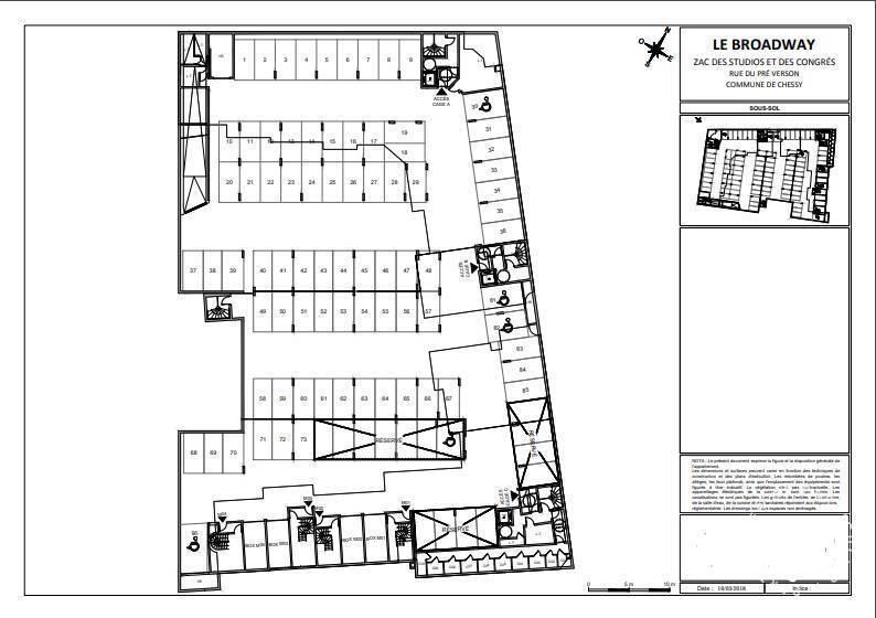 Vente Garage, parking Chessy (77700)  11.500€