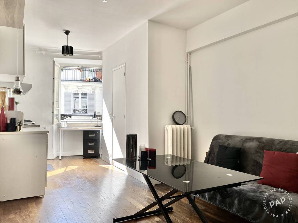 Vente appartement studio Paris 1er