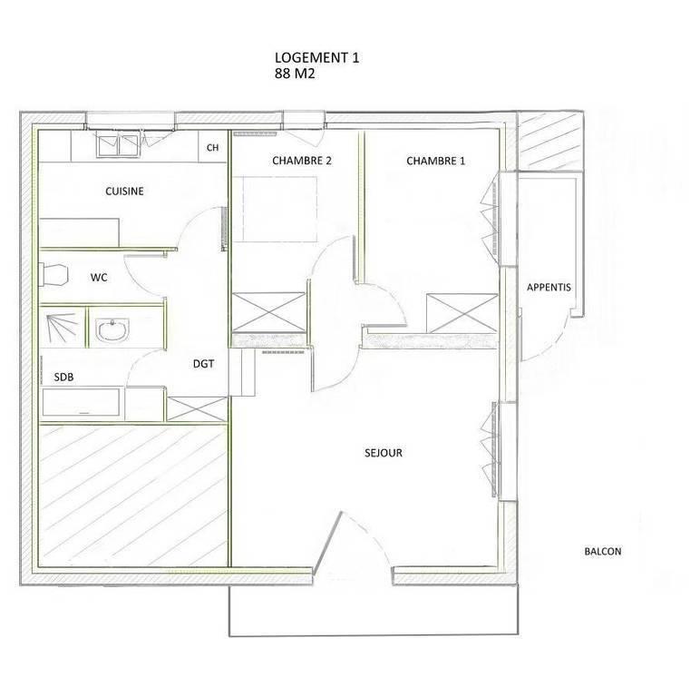 Vente maison 10 pièces Ruffey-sur-Seille (39140)