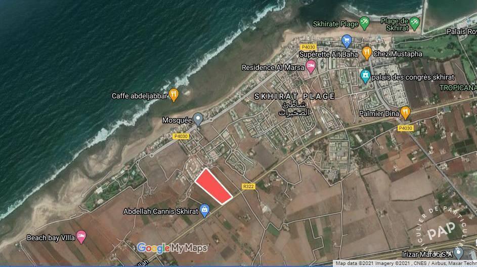 Vente Terrain Skhirat/Rabat