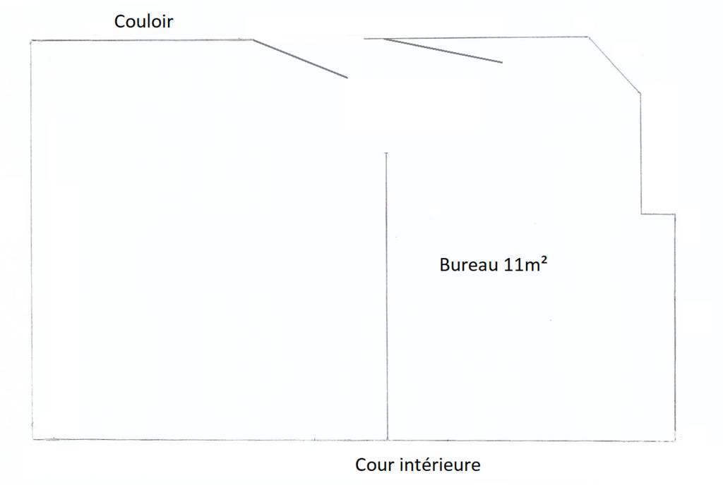 Vente et location Bureaux, local professionnel 11m²