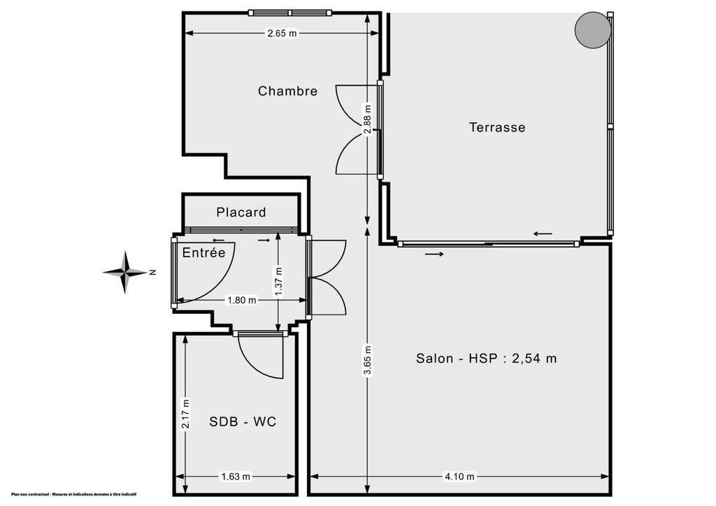 Vente Appartement /T1 À Biot (06410) 26m² 192.000€