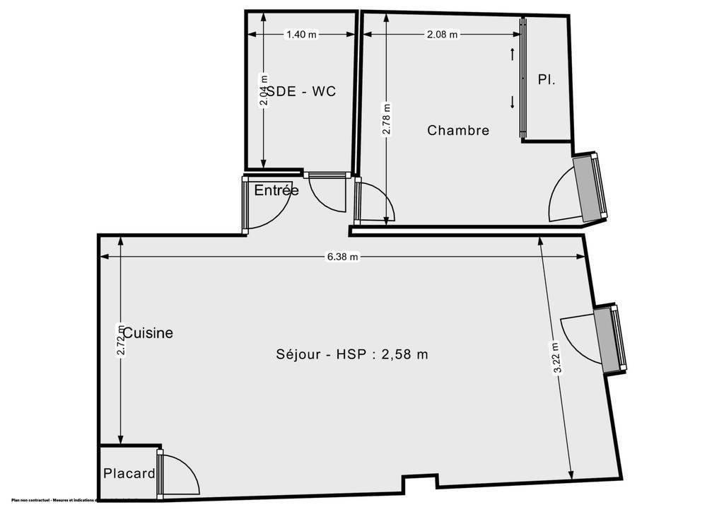 Vente Appartement Avignon (84000) 38m² 122.000€