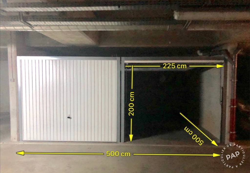 Vente Garage, parking Paris 17E (75017)  90.000€