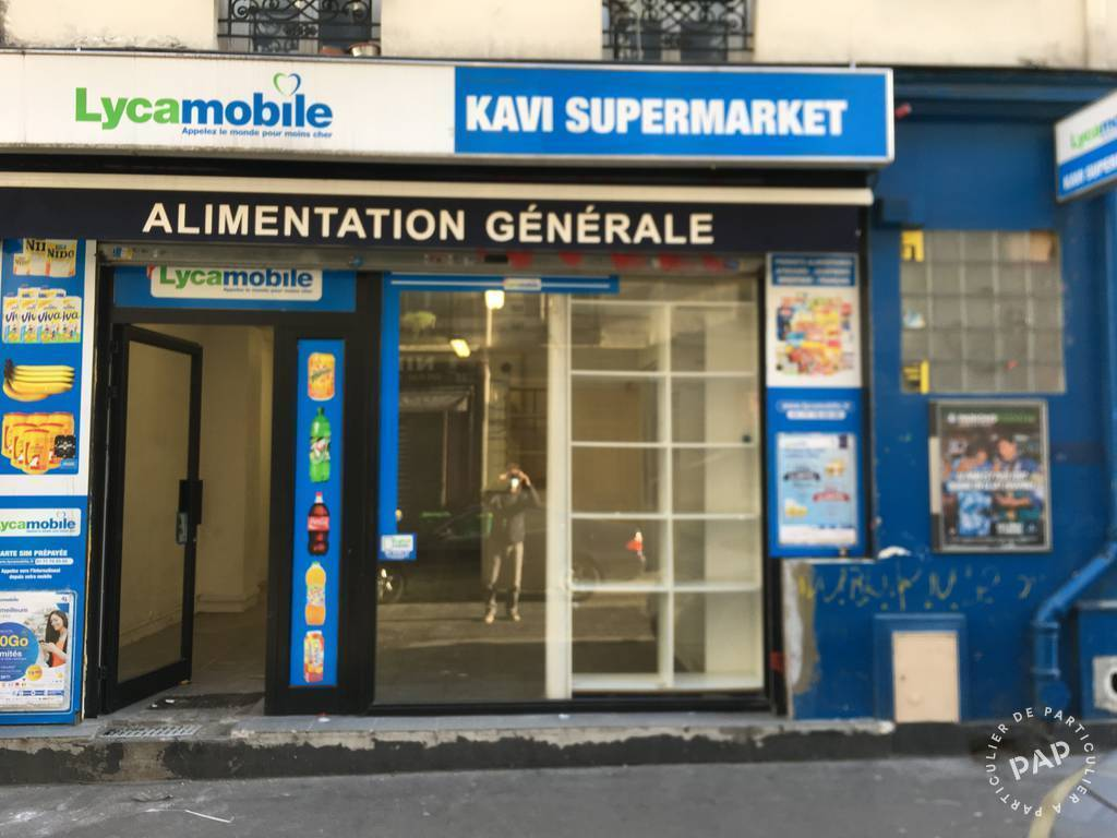 Vente et location Local commercial Paris 19E (75019)