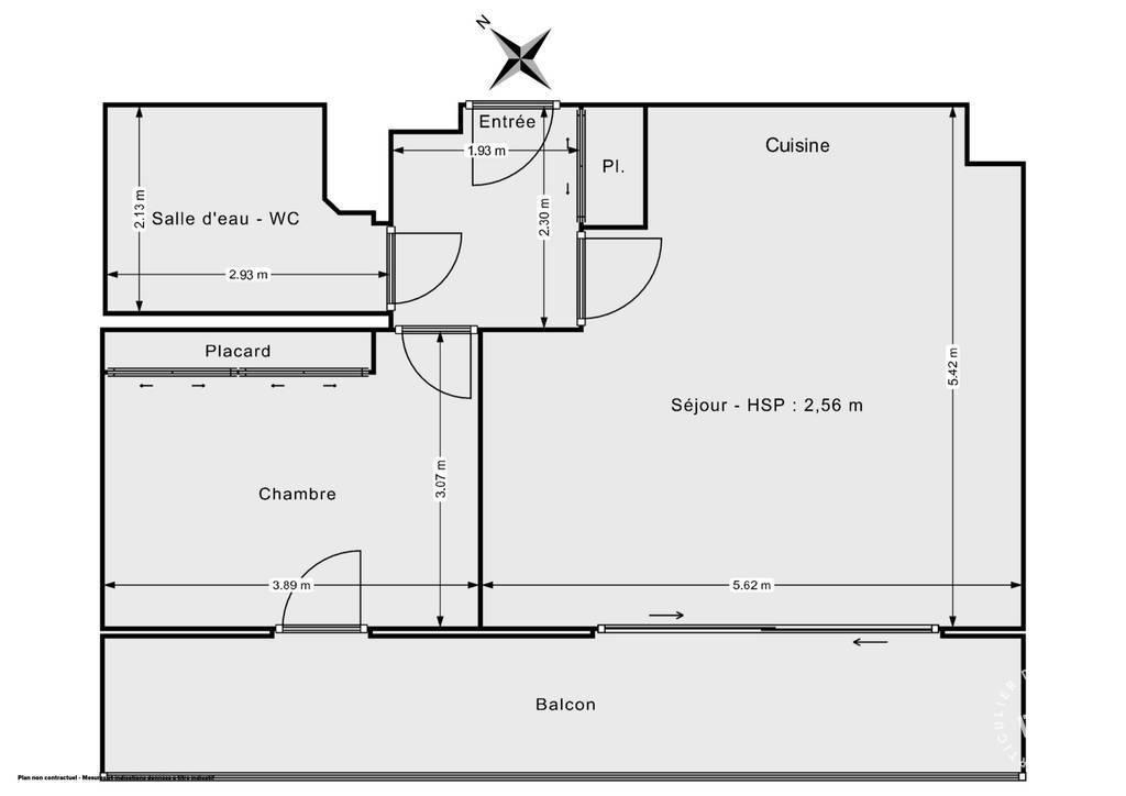 Vente Appartement Montpellier (34000) 49m² 269.000€
