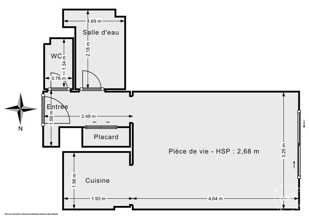 Vente Appartement Vence (06140) 24m² 95.000€
