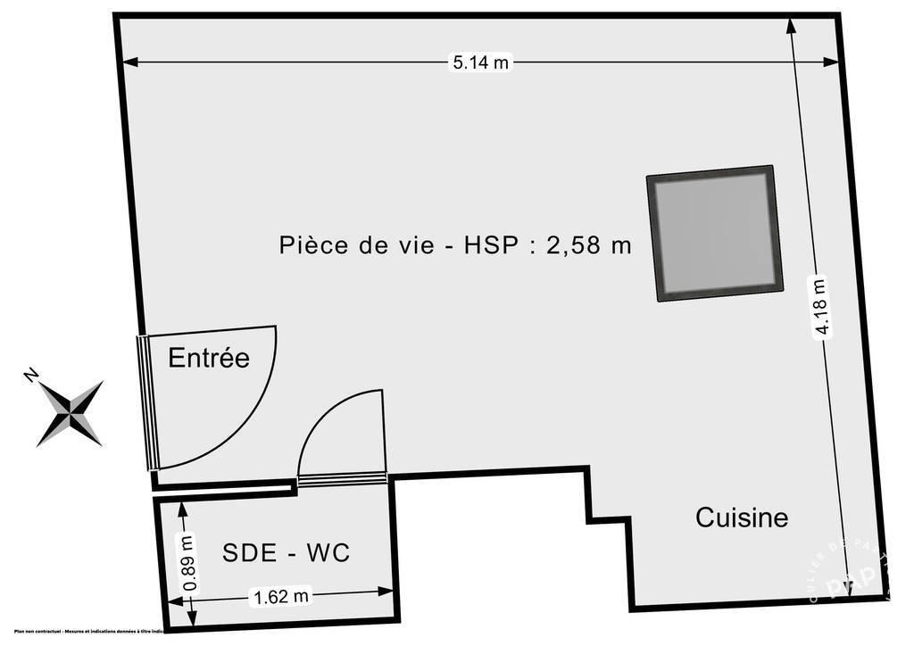Vente Appartement Paris 11E (75011) 20m² 230.000€
