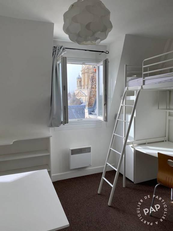 Location appartement studio Paris 5e