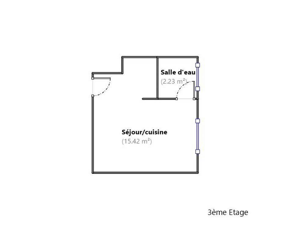 Vente appartement studio Alfortville (94140)