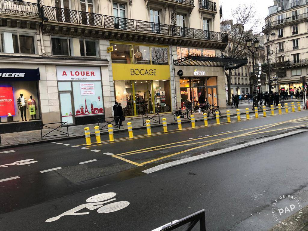 Location Local commercial Paris 1Er (75001) 95m² 11.500€