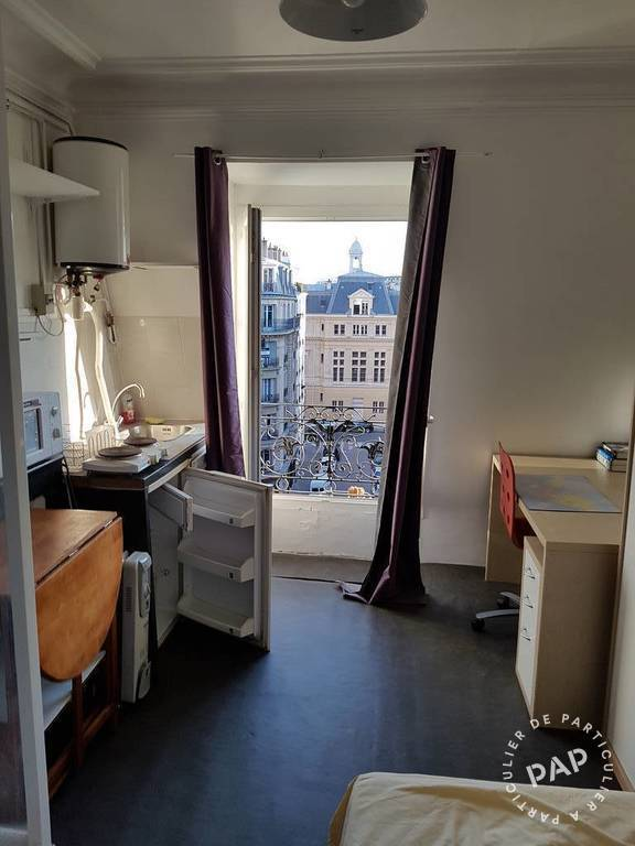 Location appartement studio Paris 14e