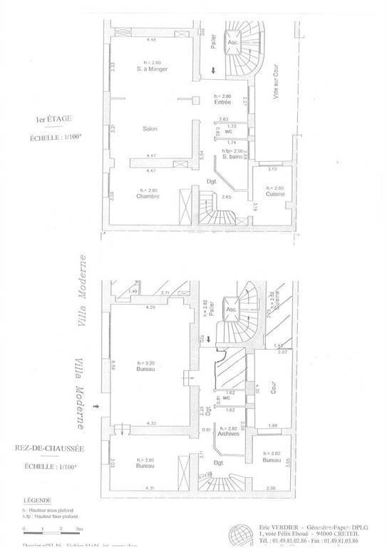 Location Paris 14E (75014) 133m²